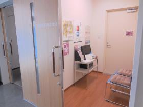 待合室も個室です