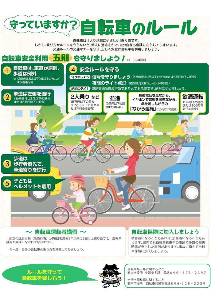 自転車ルールチラシ