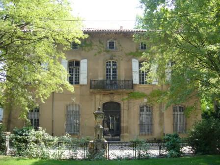 セザンヌ父の邸宅