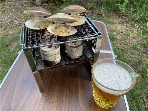【最優秀賞】はまぐりとビールとそれから私
