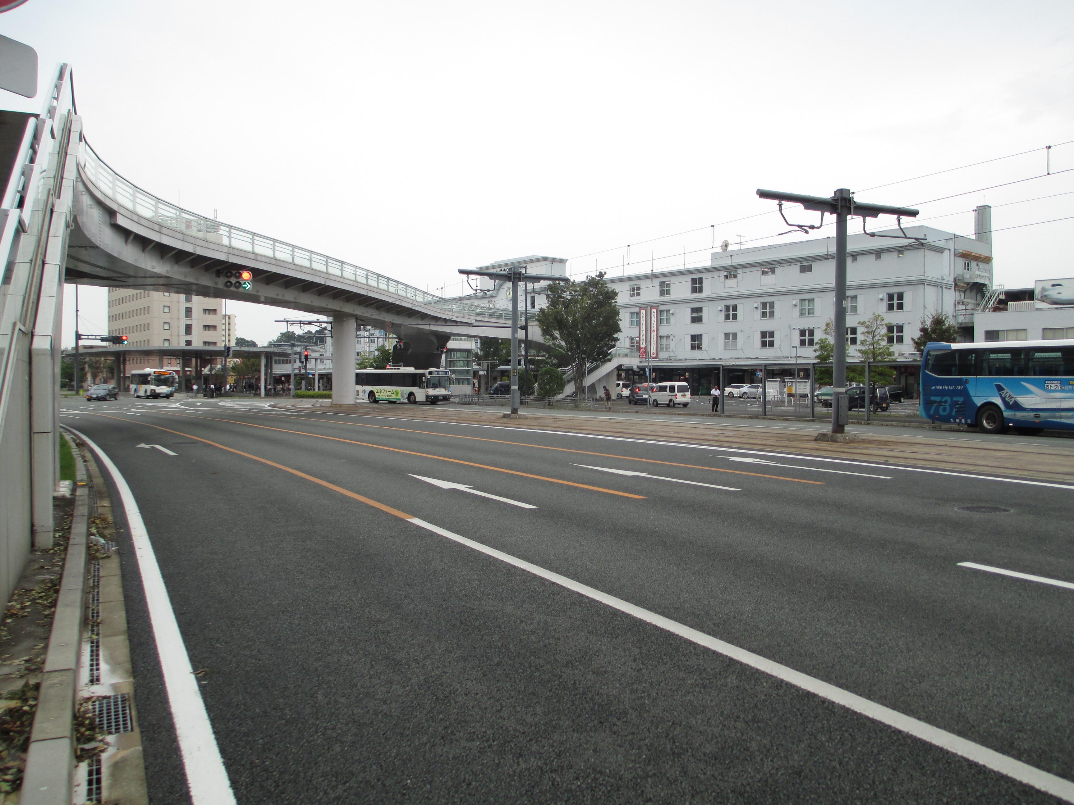 現在の駅舎