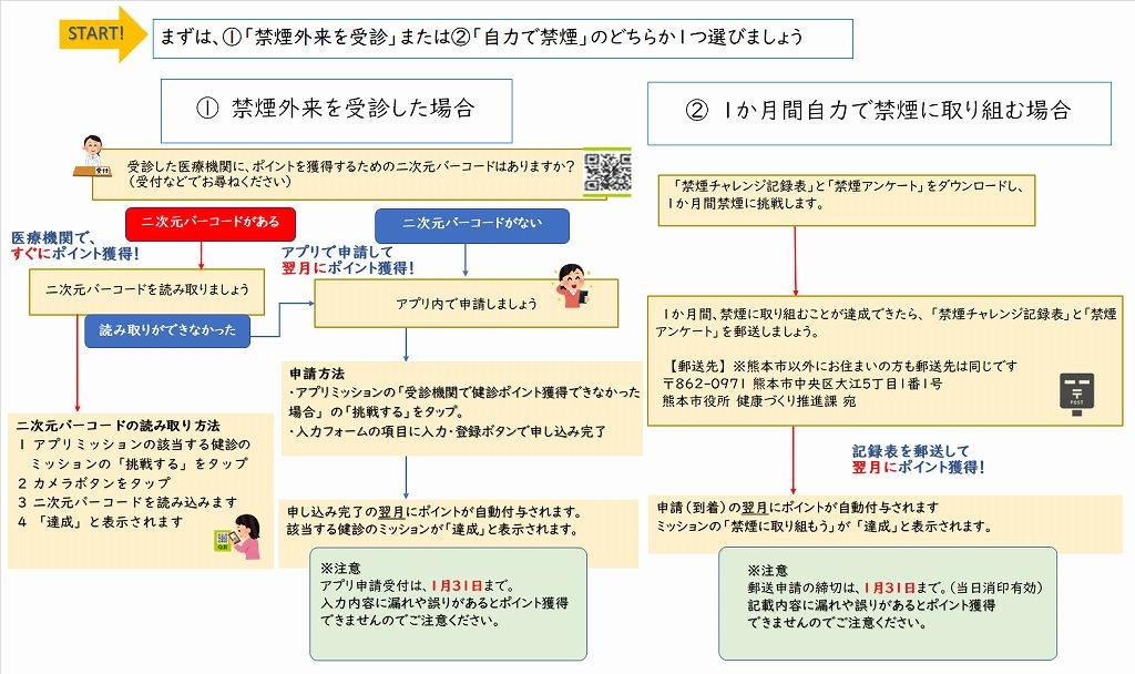 r-★健診ポイント申請フロー