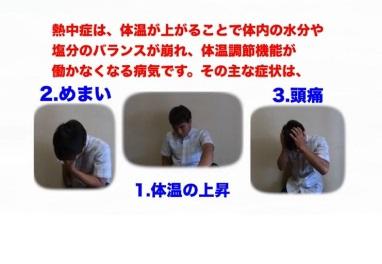 熱中症【症状】
