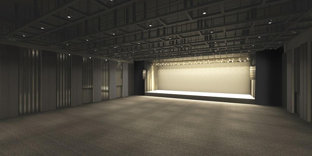 シビックホール(多目的ホール)平土間