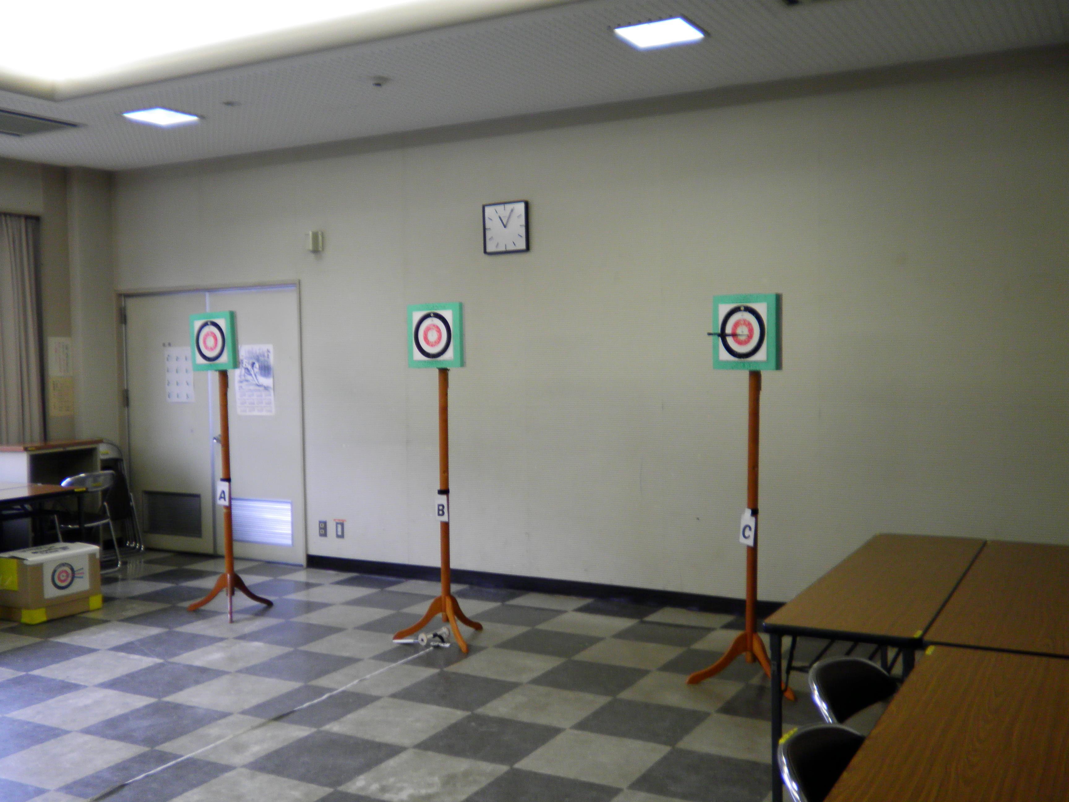 スポーツ吹矢