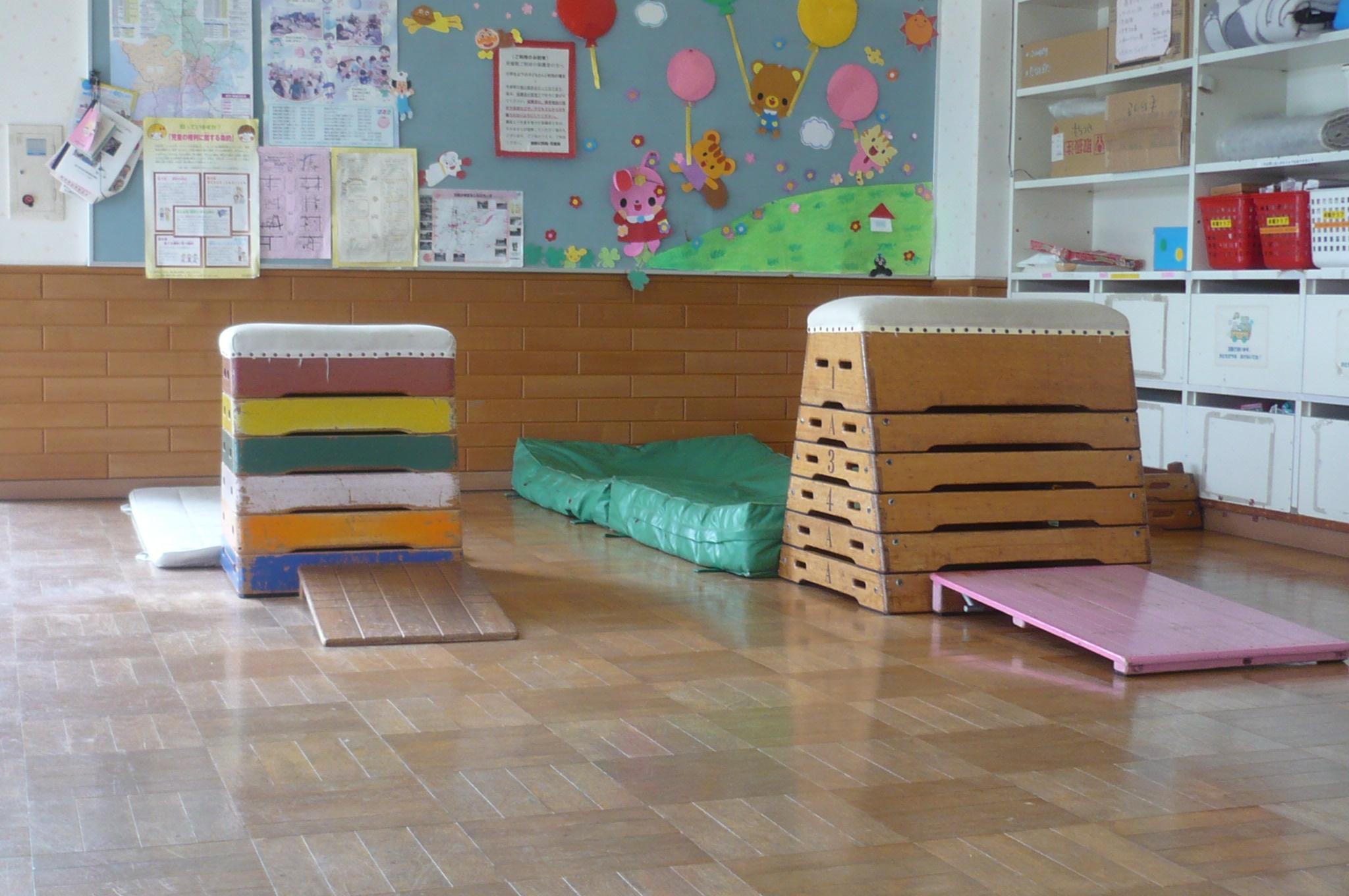 児童館 とび箱