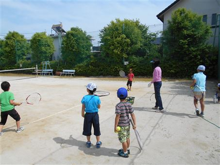 公民館キッズルーム テニス