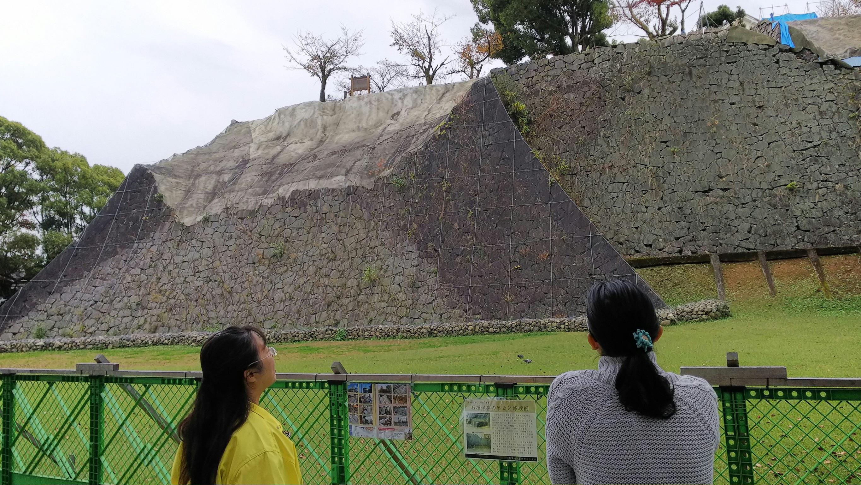 熊本城ぐるり一周