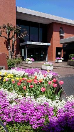 春の公民館