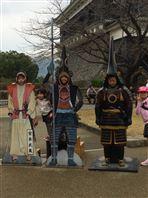 託麻西熊本城見学