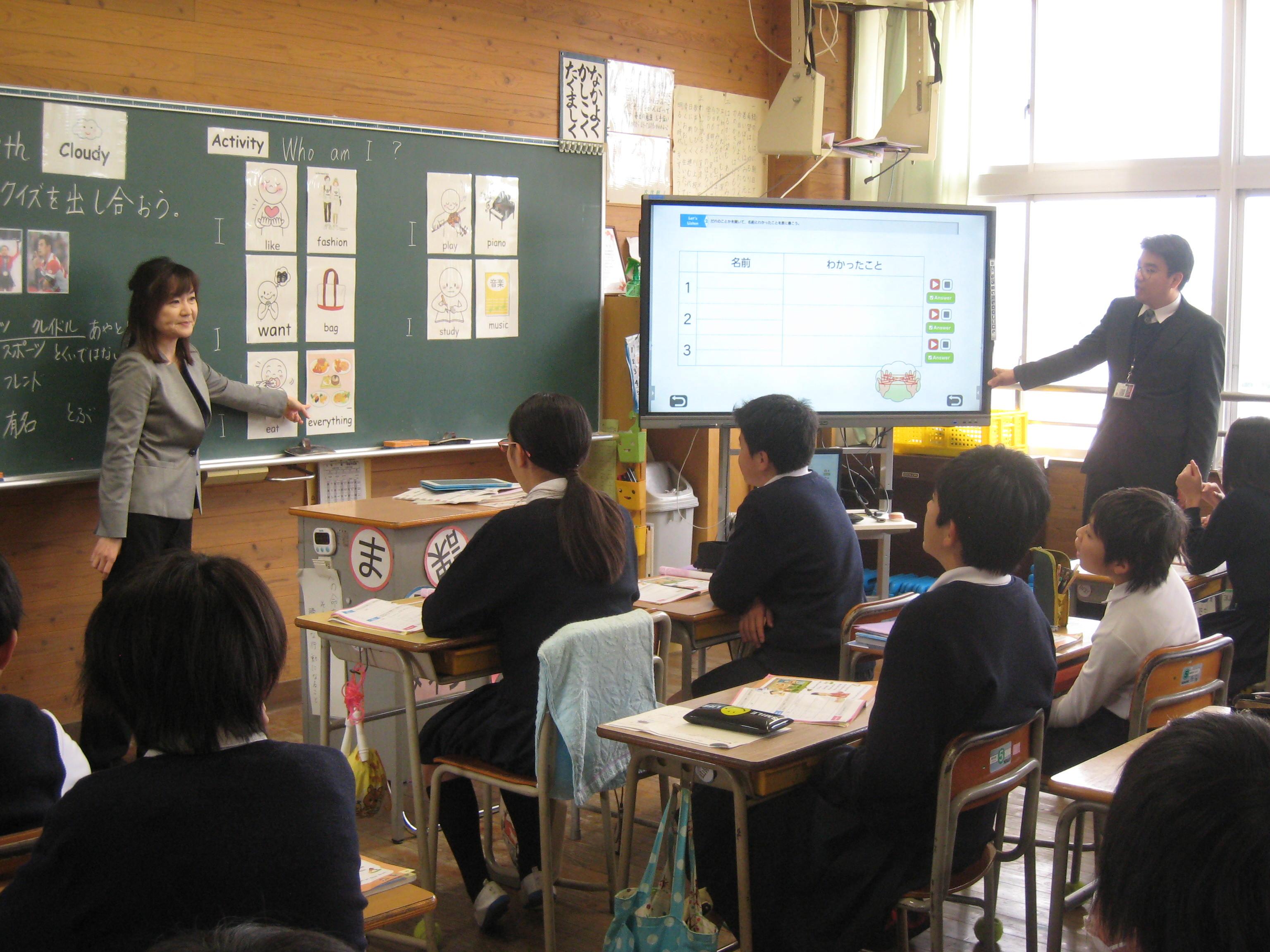 家庭教育学級「外国語の授業」