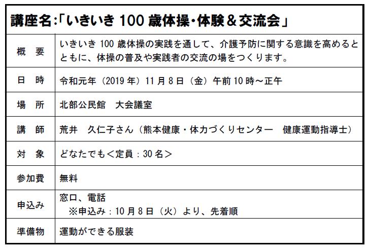 190905 HP(100歳体操)