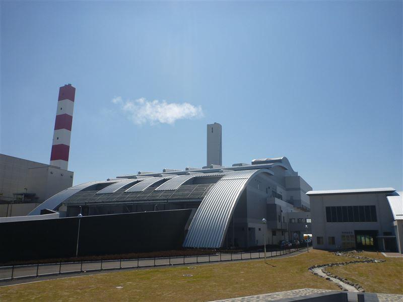 新西部環境工場外観