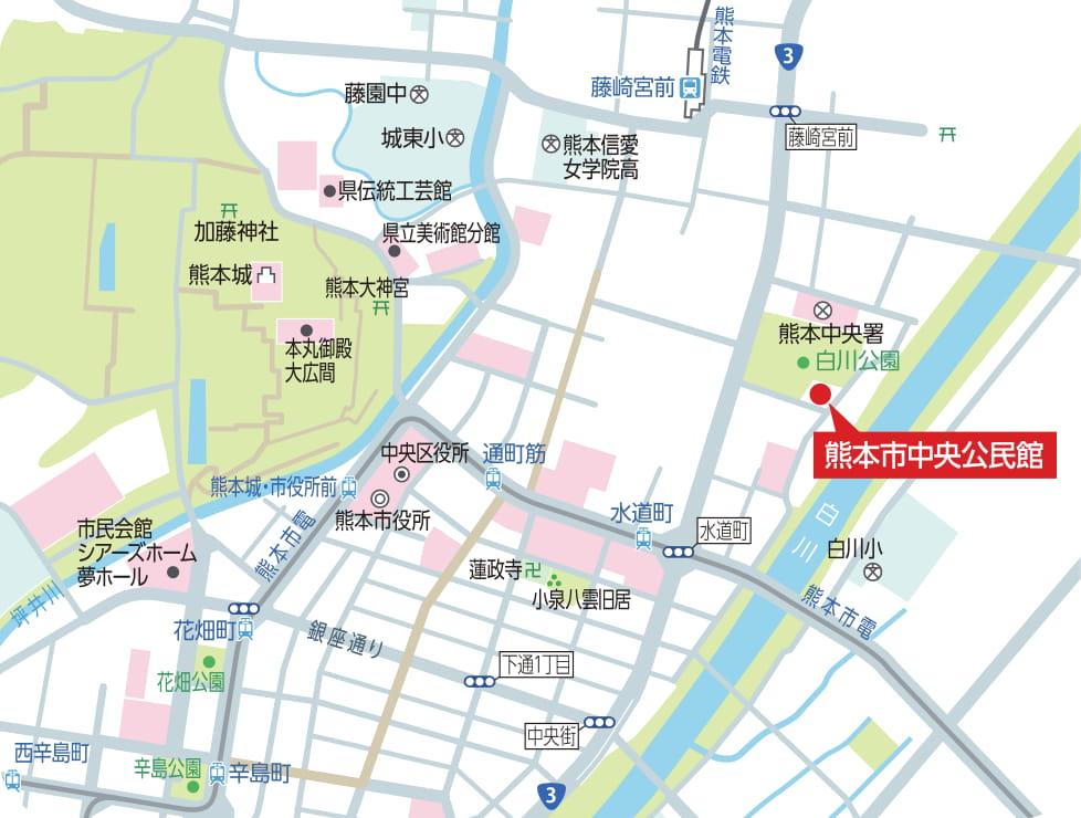 中央公民館 地図