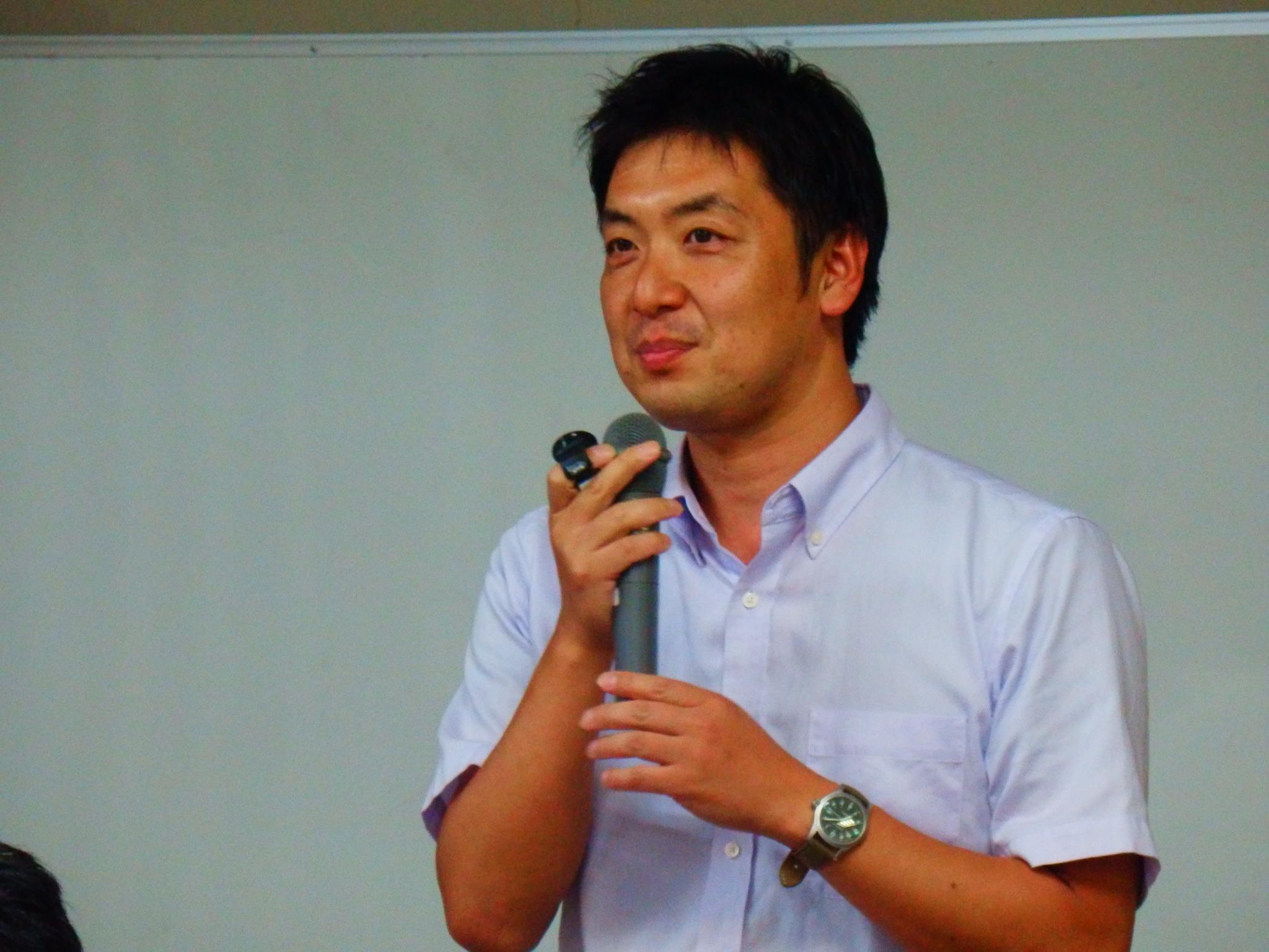 田中慎一朗先生(1)