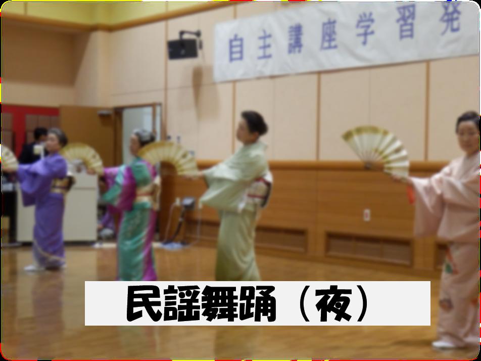民謡舞踊(夜)