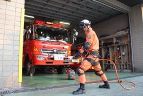 ボリューム6消防職職員の写真