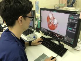 診療放射線技師 仕事中写真