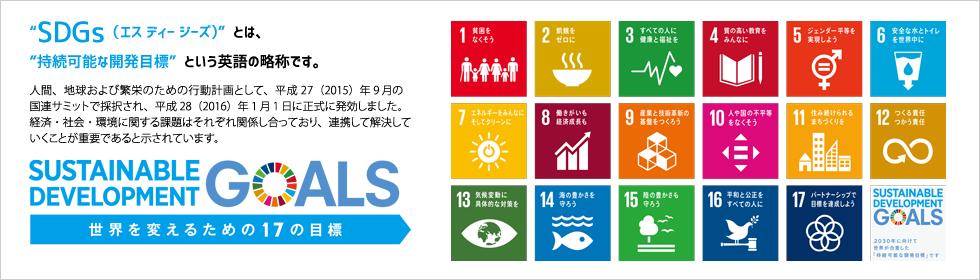 SDGs(世界を変えるための17の目標)(別ウィンドウで開きます)